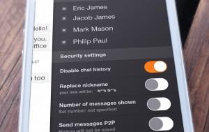 Презентация дизайна для мобильной версии iOS