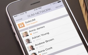 Secure messenger SafeUM now has the cutting edge design for iOS