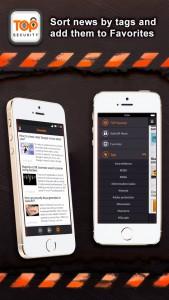 Новое приложение TOP Security! – актуальные новости информационной безопасности