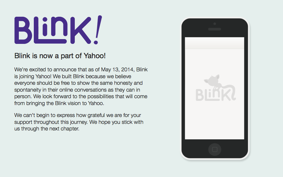 SafeUM Blog - Yahoo Acquires Self-Destructing Messaging App