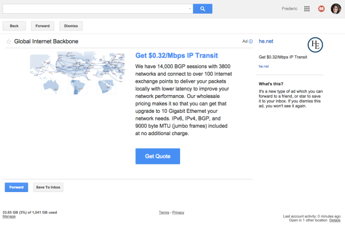 SafeUM Blog - Google launches native ads in Gmail to all