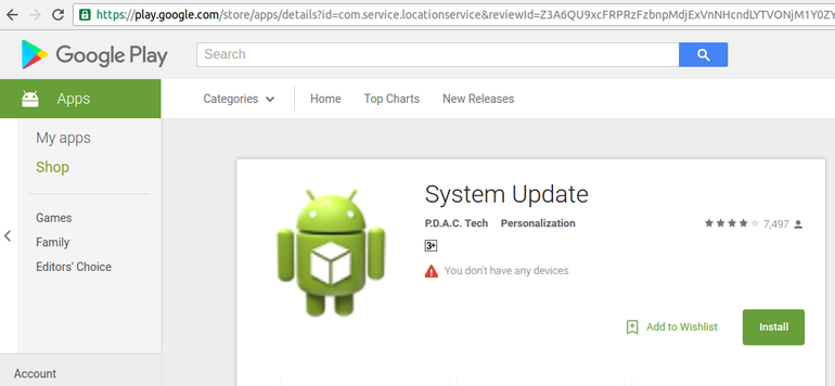 SafeUM Blog - Location tracking Android spyware found in