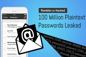 SafeUM Blog - Rambler ru hacked, nearly 100 million plaintext